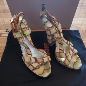 Missoni Platform Sandal